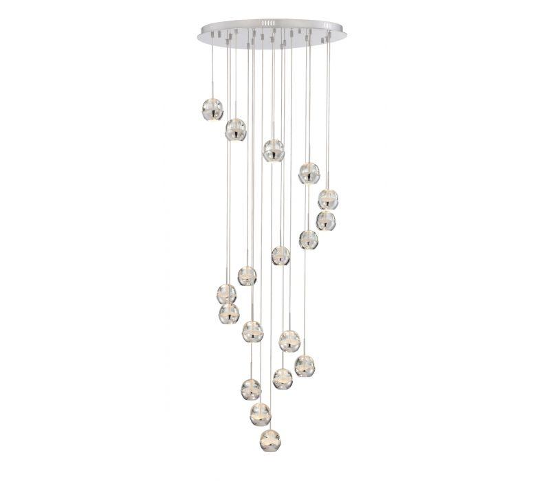 Draplin 18 light LED pendant