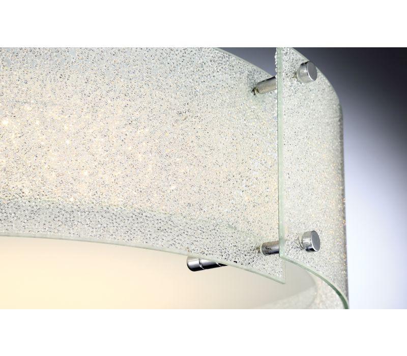 Kaelin Diamond LED Flush Mount Light Fixture - LS 5419