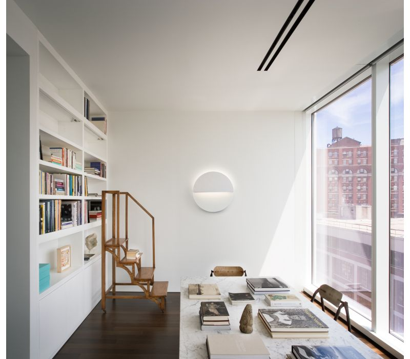 Richard Meier Light Circle Sconce for Ralph Pucci