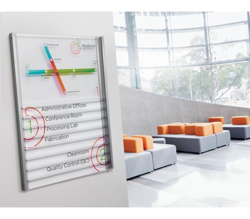 Lucid Refined Interior Signage