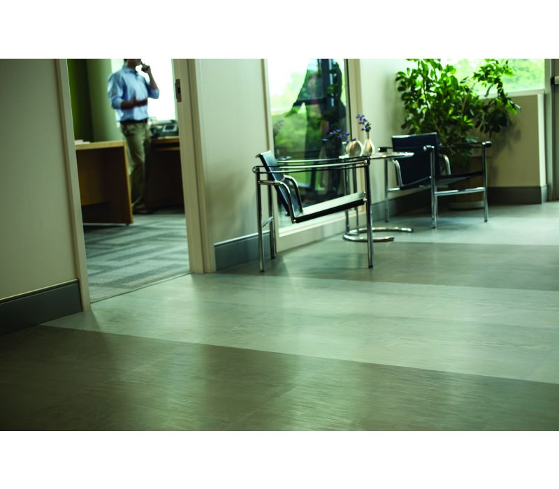 Johnsonite Rubber Textures - Brushed, Concrete and Leather