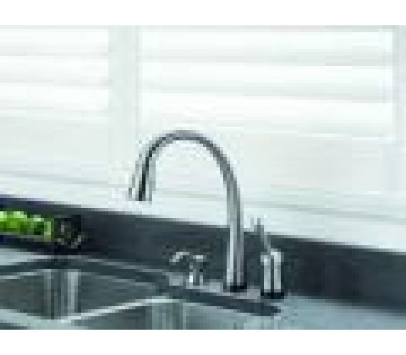 Delta's Pilar Pull-Down Kitchen Faucet with Touch