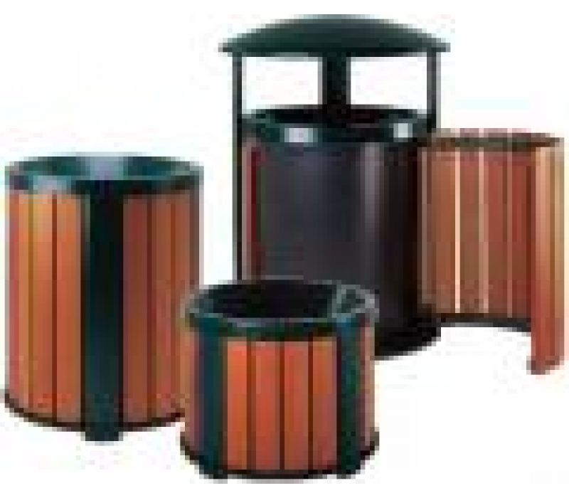 Brighton Litter Receptacles and Planters