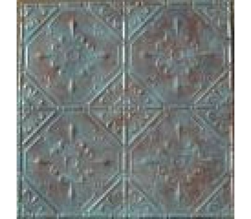 Hand Painted Pressed Tin for Ceilings