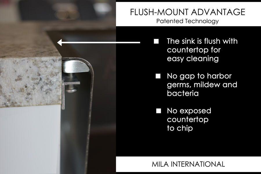 ARC Flush-Mount Sink for Kitchen and Bath
